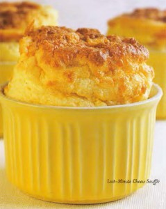 Last Minute Cheese Souffle
