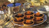 Chocolate and Candied Orange Tartlets