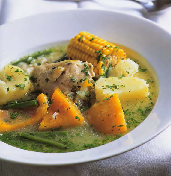 Lavarenne Chilean Stew Of Chicken Corn And Pumpkin Cazuela