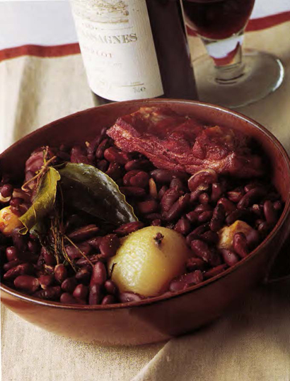 LaVarenne » Winegrower's Red Beans with Red Wine